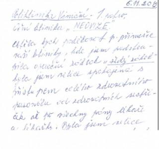 Dopis spojené pacienty, Oční klinika NeoVize