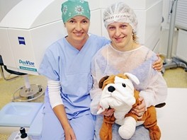 Výherkyně z OnaDnes.cz Jana Fejfarová podstoupila laserovou operaci a zbavila se tak 6 dioptrií