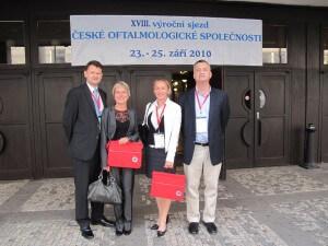 Lékaři DuoVize úspěšně vystoupili na sjezdu očních lékařů v Teplicích
