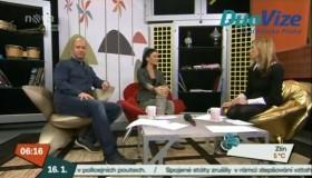 MUDr. Eva Jerhotová Ph.D. hostem ve Snídani s Novou