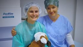 Naše pacientka Anna po laserové operaci NeoSMILE 3D®: