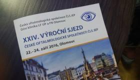 Lékaři a sestřičky vystoupili na sjezdu České oftalmologické společnosti
