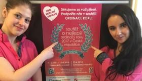 V soutěži Ordinace roku 2017 jsme uspěli!