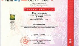 Oční klinika DuoVize obhájila certifikát kvality ISO