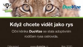 DuoVize adoptovala orla a rysa