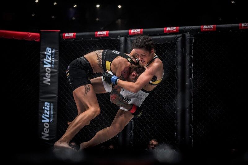 NeoVize se stará o zrak MMA zápasníků OKTAGONU