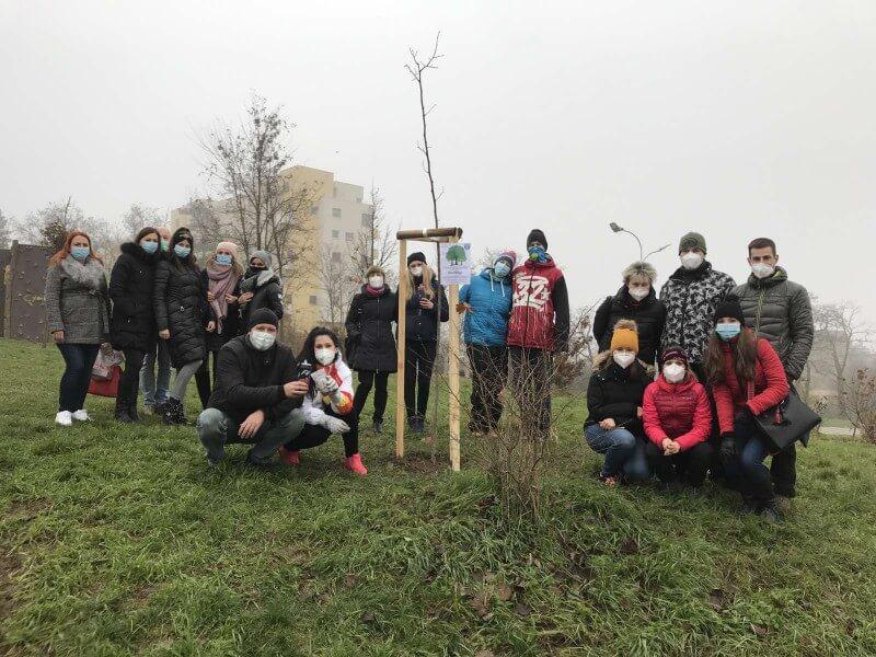 15 stromů zasazeno!