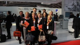 Tým NeoVize na kongresu ESCRS v Amsterdamu