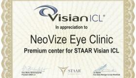 NeoVize je prémiovým centrem implantace čoček ICL