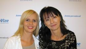 Paní Lenka se po více než 20 letech zbavila kombinované oční vady