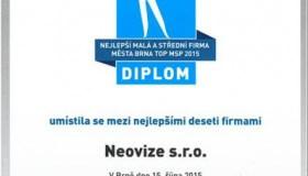 NeoVize v nejlepší desítce firem v Brně!