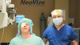 Pacient Aleš po implantaci čočky ICL:
