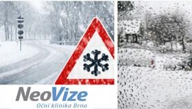 Péče o oči v zimě: za volant pouze s ostrým zrakem
