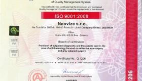 Úspěšný dozorový audit ISO 9001:2008