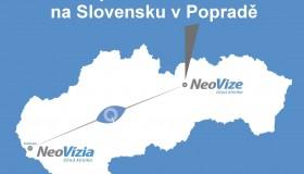 Nová pobočka NeoVize na Slovensku v Popradě