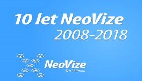 NeoVize slaví 10 let!