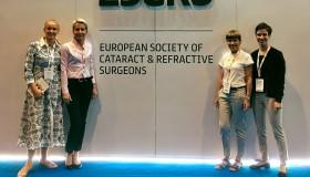 Účast na 37. ročníku kongresu ESCRS v Paříži